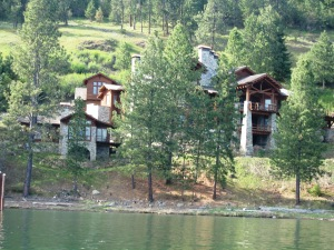 PENDING on Coeur d'Alene Lake! Windy Bay, 351' frontage, 5 bdrms, 5.5 baths, 9,092 sq ft *Click photo for more information!*